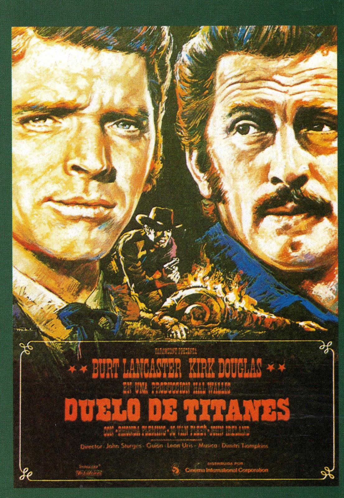 Cartells De Cine 492 Duelo De Titanes 1957