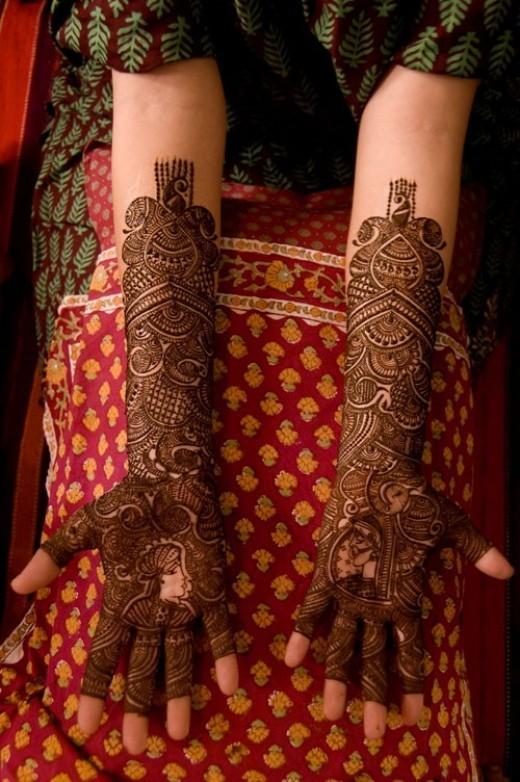 Bridal Mehndi Prices Uk : Latest arabic mehandi designs
