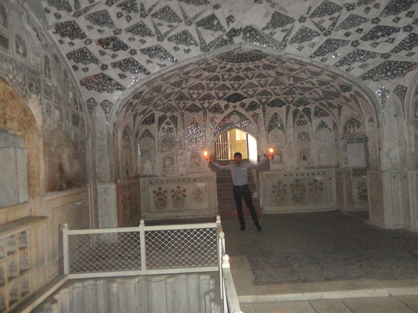 Sheesh Mahal at Agra Fort Agra