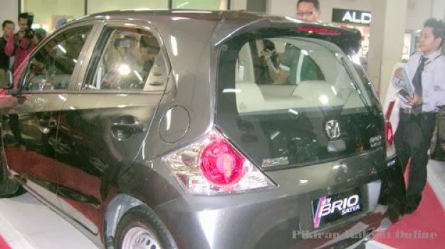 Honda Brio Satya Ternyata Ada Logo Melati