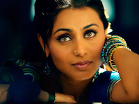 Sexy Actress Rani Mukerji Hot Eyes