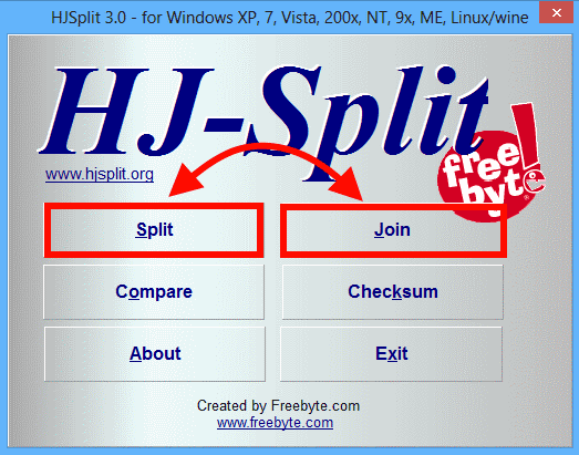 HJ-Split interface