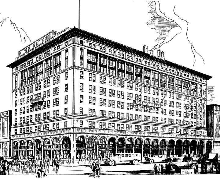 the department store museum lasalle koch co toledo ohio