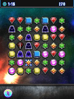 Screenshots of the Infinity Jewel 2 for java mobile, phone.