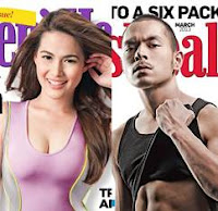 Jake Cuenca and Bea Alonzo on the cover of Health magazines this March