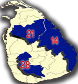 UPFA secured a massive victory in the Sri Lanka Provincial council election 2012