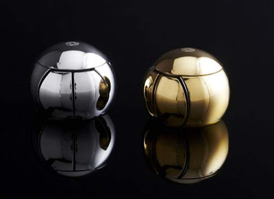 OreObject SPHERE 2, Round Mouse Luxury with material Surgical Grade Stainless Steel