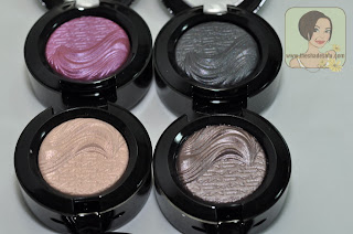 MAC Stylishly Merry, Ready to Party, A Natural Flirt, Divine Blue, Stolen Moment, Tall, Dark & Handsome
