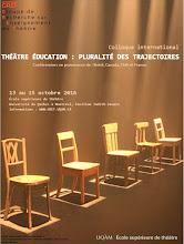 Théâtre-Éducation: pluralité des trajectoires