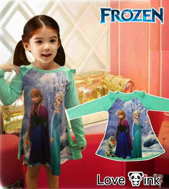 Anna and Elsa Frozen Dress