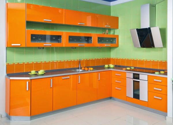 warna cat dapur yang bagus rumah minimalis 2015 model