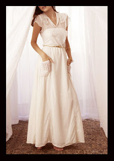 Casual Wedding Dress Picture