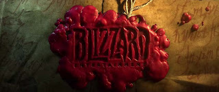 Blizzard logo-candle