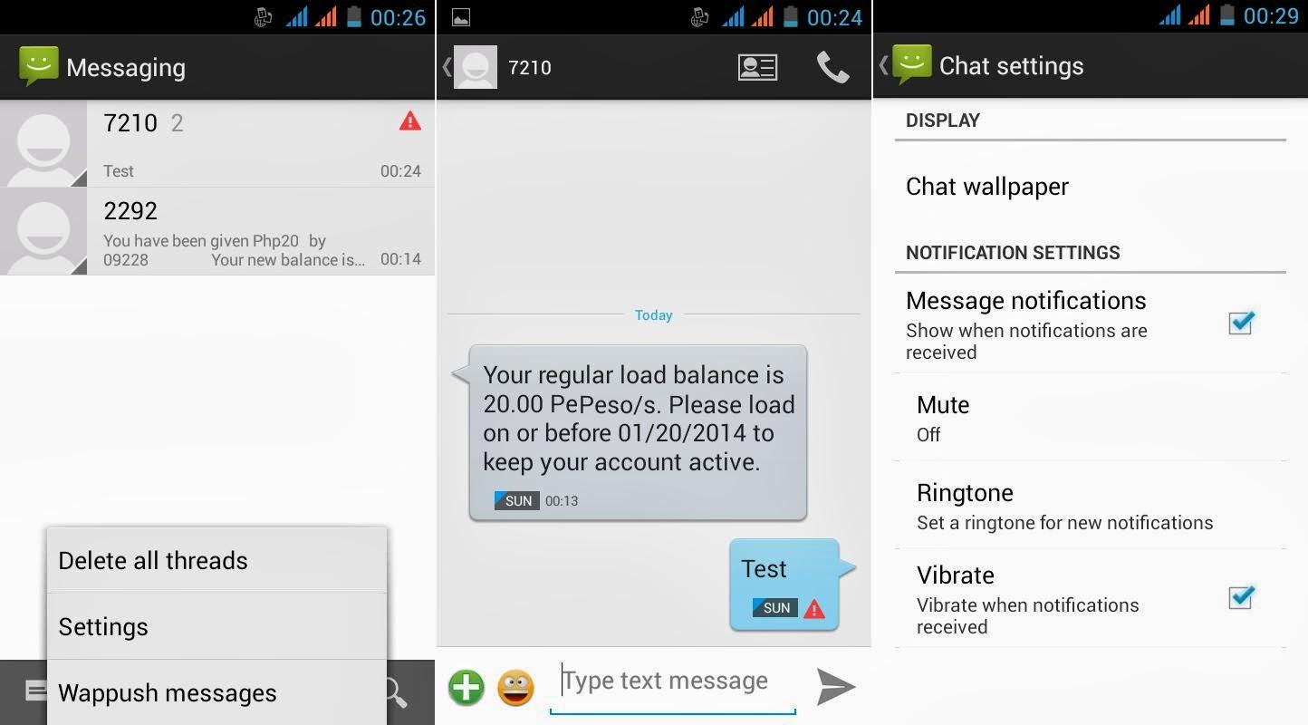 SKK Mobile Glimpse Messaging