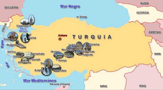 Recorrido realizado - De Capadocia a Estambul