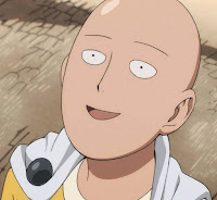 Saitama the One Punch Man/Caped Baldy