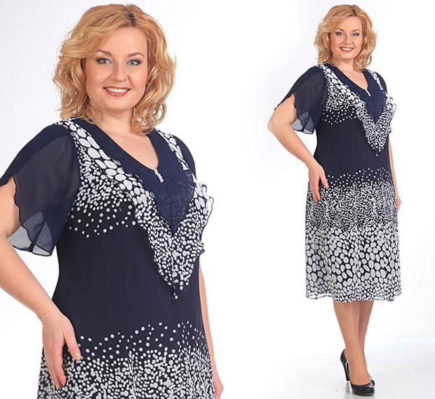 Белорусские платья на полных женщин