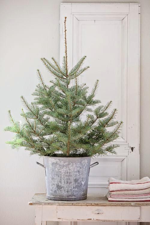 decoracion natural navidad