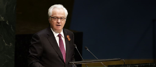 Churkin: Ukraine should withdraw its troops from recently...