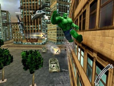 Hulk Game Screenshots