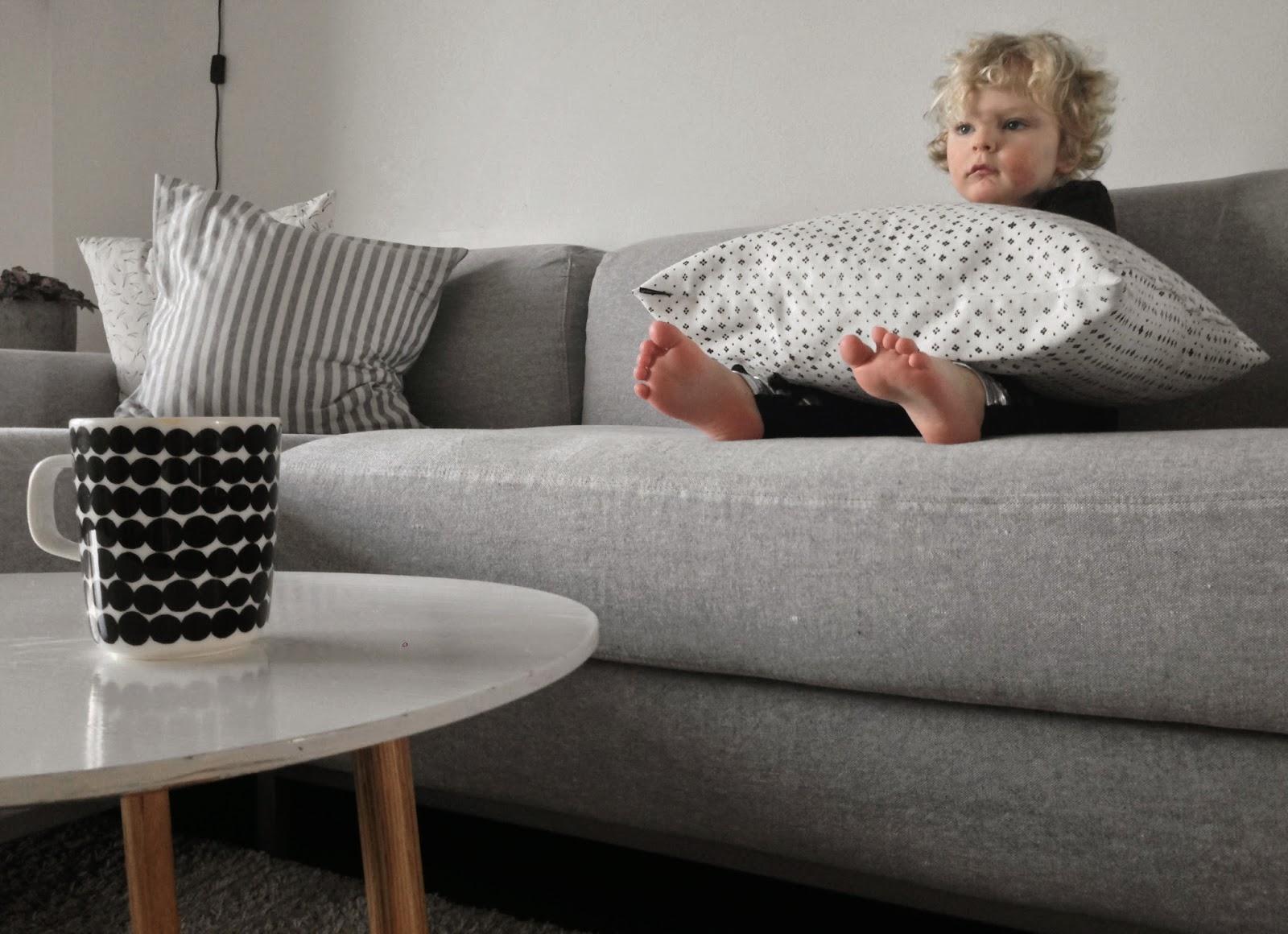Ikea, Kramfors, Bemz, Linen, Brera lino, Graphite, Designers Guild