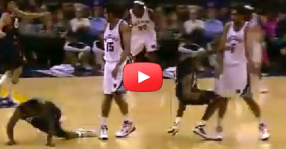 #ThrowbackThursday | Hamed Haddadi Takes Down Lebron James (VIDEO)