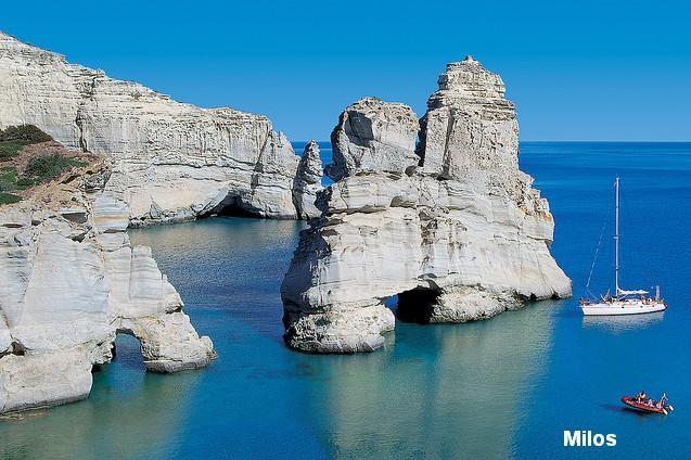Milos - The Top Ten Most Romantic Honeymoon Destinations in Hellas (Greece) and in Hellenic (Greek) Islands