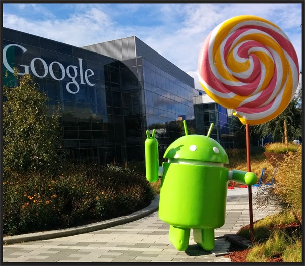 اندرويد  Android 5.0 Lollipop يتيح لك ادوات انشاء تطبيقات الاندرويد .