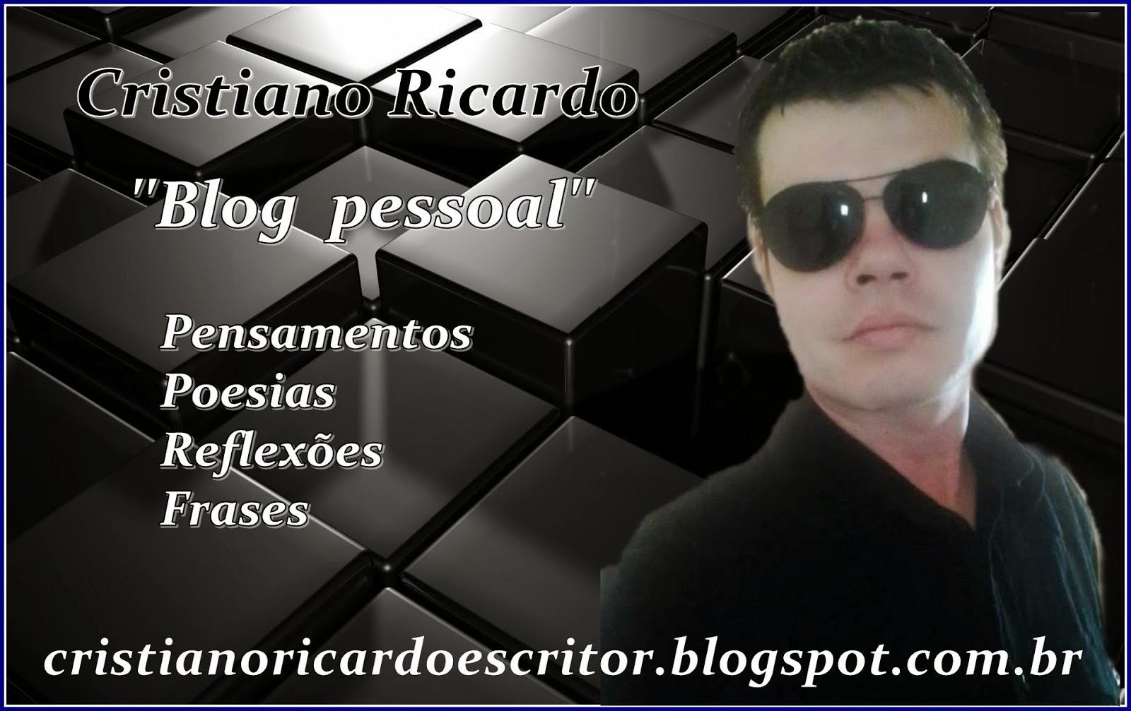 Blog Pessoal -Cristiano Ricardo
