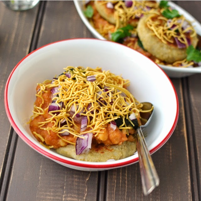 Ragda Pattice/ Patties (Chaat from Mumbai)