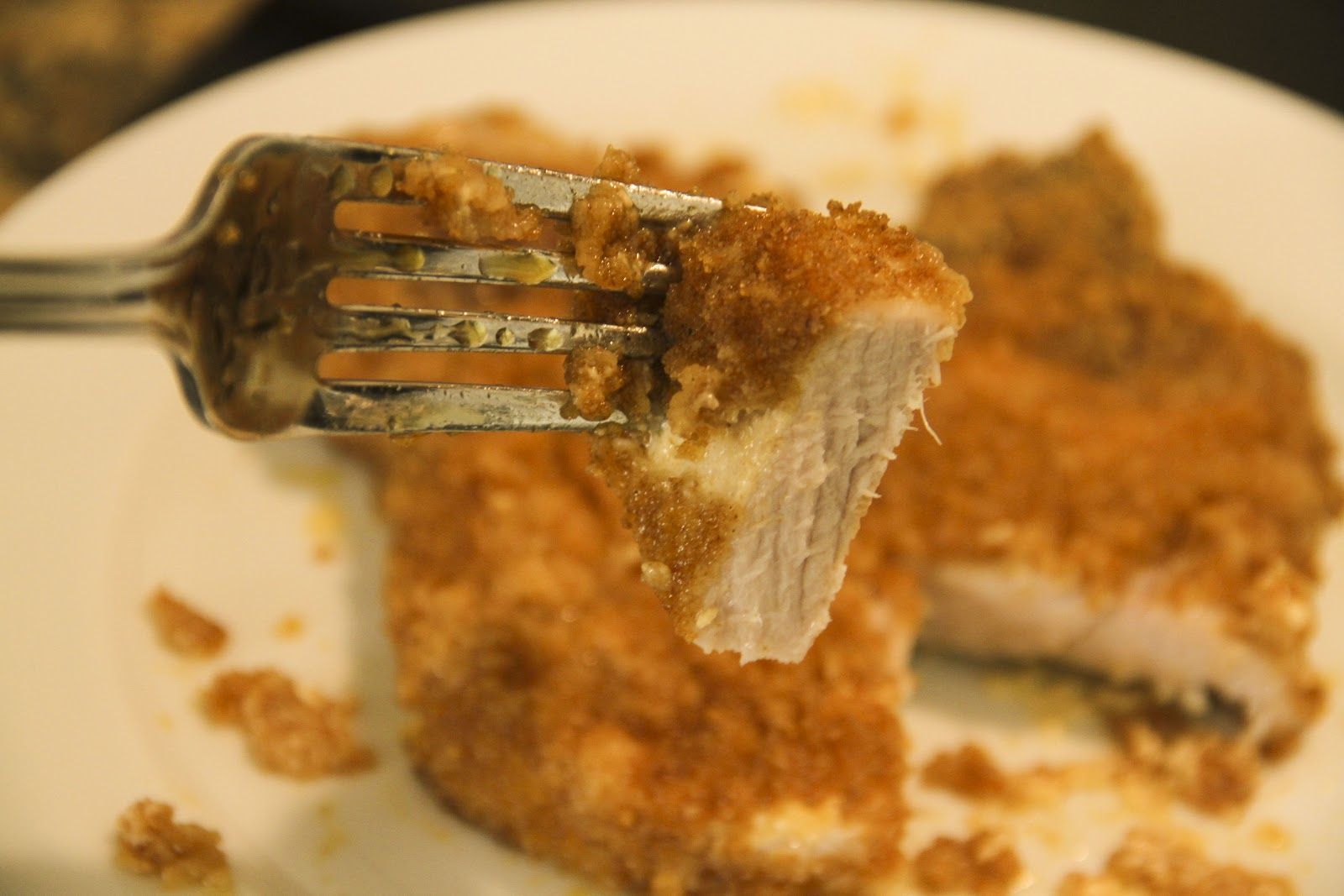 The Coffee Breaker: Simple & Spicy Oven-Fried Pork Chops