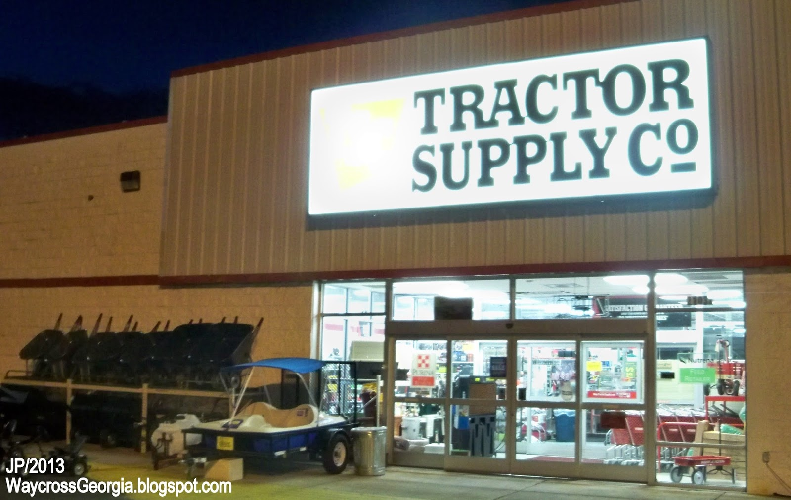 About TRACTOR SUPPLY. Tractor Supply Co., most often referred to as just Tractor Supply, is a rural lifestyle retail chain. In , it was founded as a mail order catalog selling tractor parts to .