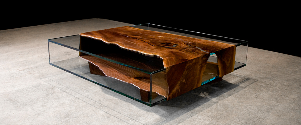 Co9 Wood And Glass Tables By John Houshmand