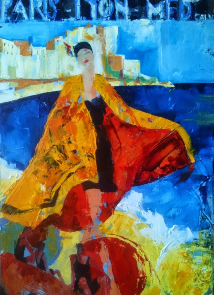 Doctor Ojiplático. Fanny Nushka Moreaux. Pintura