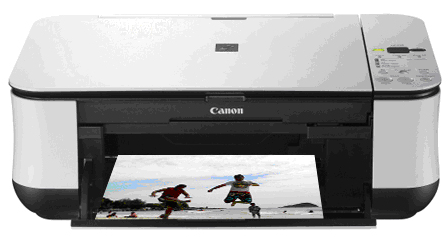 how to open up a canon printer