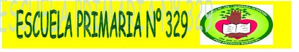 ESCUELA PRIMARIA Nº 329