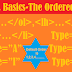 HTML Basics-List tag, the ordered List, Examples using various attributes