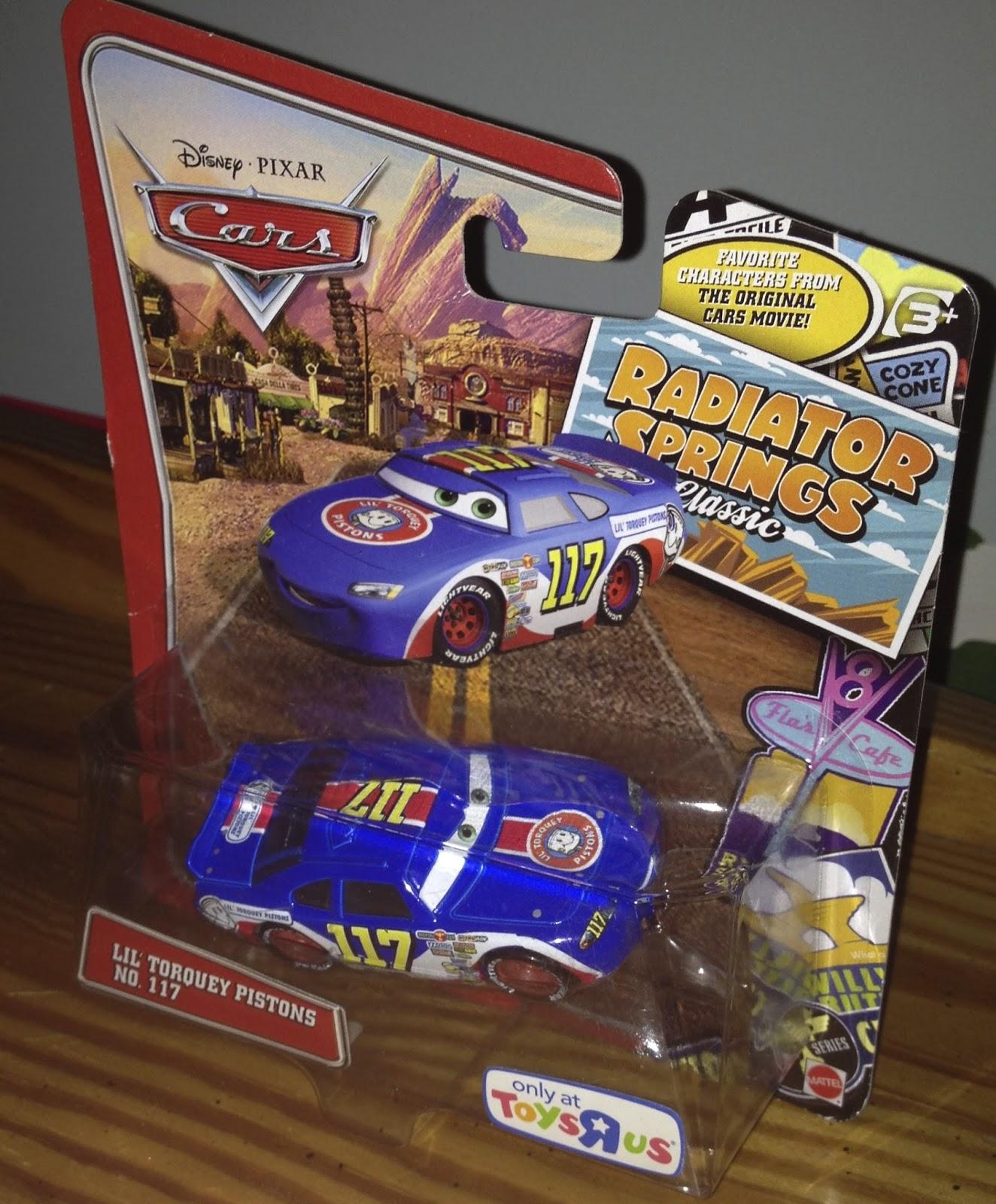 Dan The Pixar Fan Cars Ralph Carlow Lil 39 Torquey Pistons
