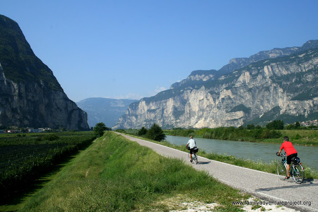 Cycling in Austrian Alps
