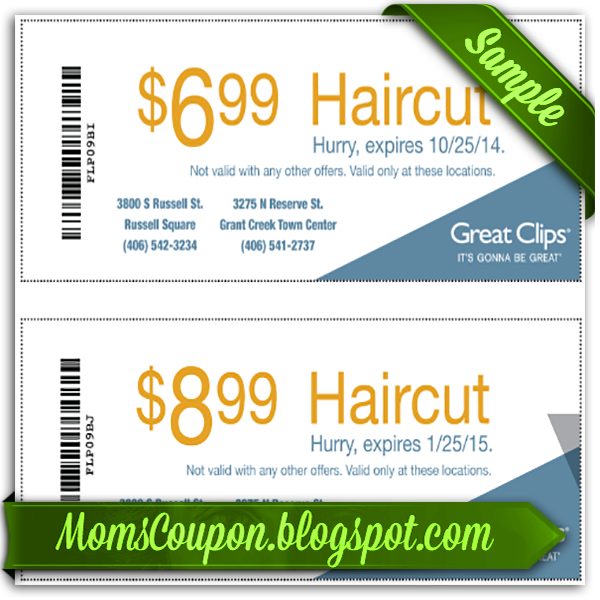 An updated list of Great Clips coupons. These printable haircut offers work when you visit a Great Clips location. Save 20% off or more on your next visit. An updated list of Great Clips coupons. These printable haircut offers work when you visit a Great Clips .