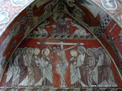 Pinturas San Miguel Foces, Huesca