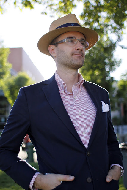 Lee O'Connor Seattle Street Style Hat Dapper It's My Darlin'