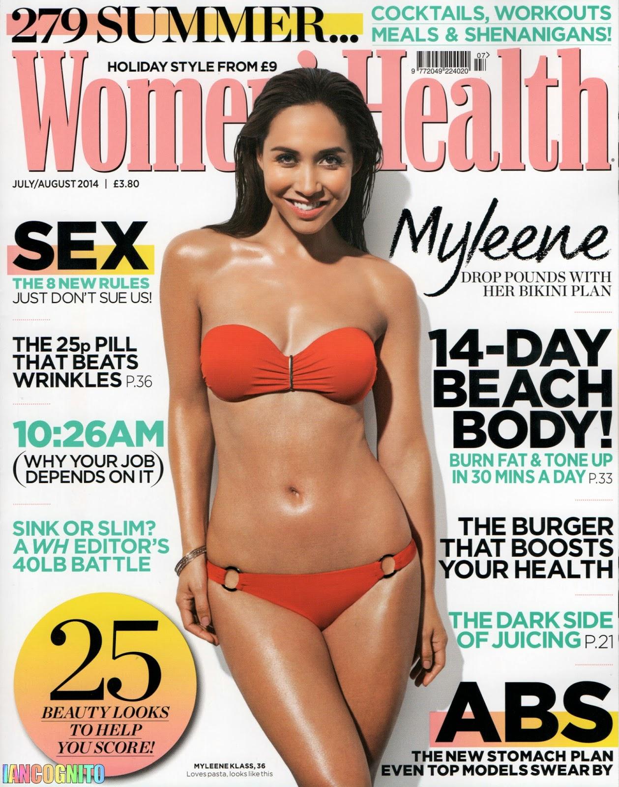 Myleene Klass For Women's Health Magazine, 2014