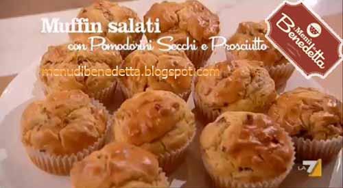 Muffin Salati Con Prosciutto E Pomodorini Secchi Ricetta Da I Menù