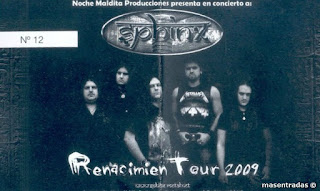 entrada concierto sphinx