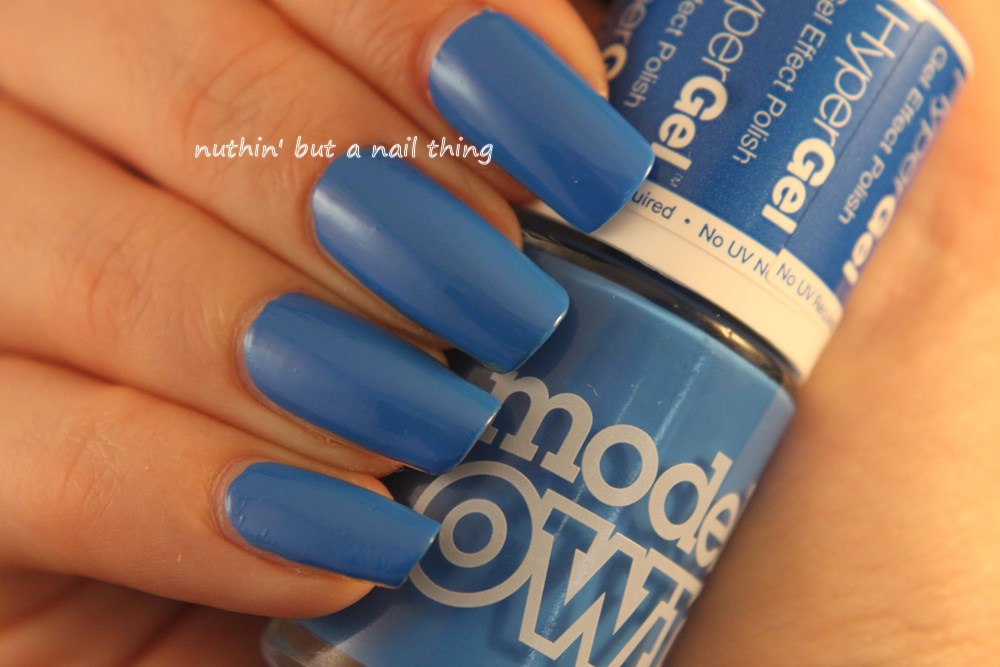 Models Own Hypergel Collection New Colours Bermuda Blue