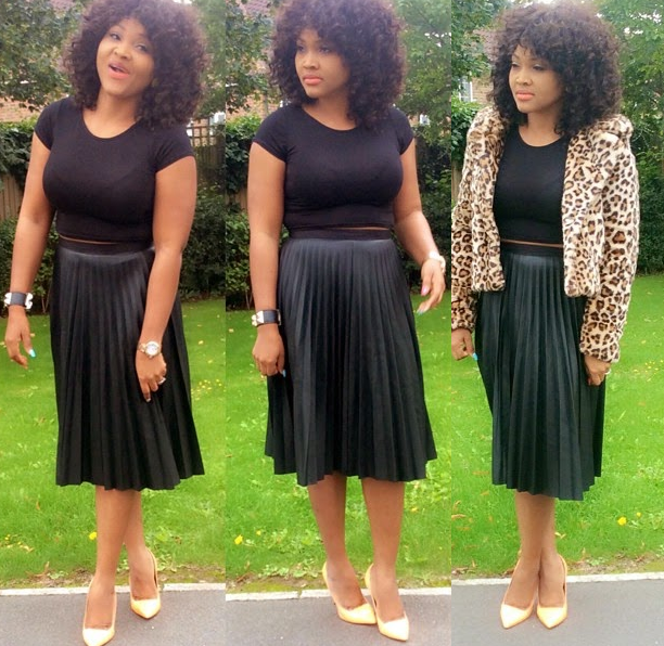 Mercy Aigbe Shares Hot Vacation Photos……