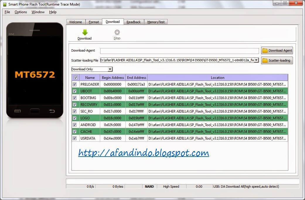 Download SP Flash Tool V5135201 Oprek Hape Android