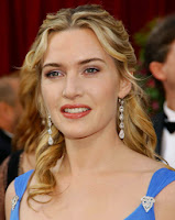 Picture of Actress Kate Winslet who has admitted to struggling with eating disorders
