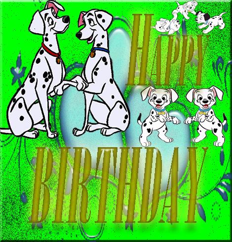 Dalmatians for birthday